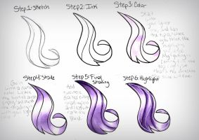 How I Color Hair: Tutorial by frostykat13