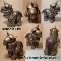 Alphonse Elric by customlpvalley