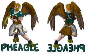 Pheagle Double-Sided TF Badge by Pheagle-Adler