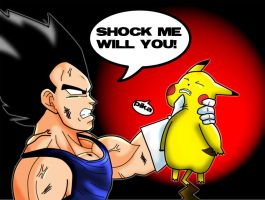 Vegeta's anger by zignoth