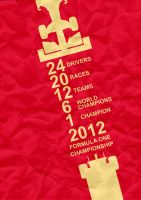 F1 2012 Poster by thomasdyke