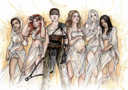 Furiosa and The Wifes by Nitaniel