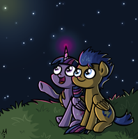Wonderful night by Milchik