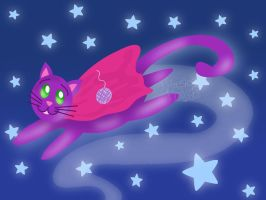 GO SUPER CAT GO by Tanis711