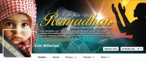 FB Timeline Cover 2013 Ramadhan 1434 H by mietony