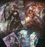 LOL: bundle Artbook promo by CGlas