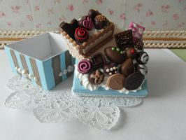 Chocolate Lover Decoden Box by AngelicLight100