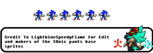 Sonic Custom Idle  1 by FlameBurstAnimations