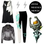 Zelda TP Midna Leggings Outfit by Enlightenup23