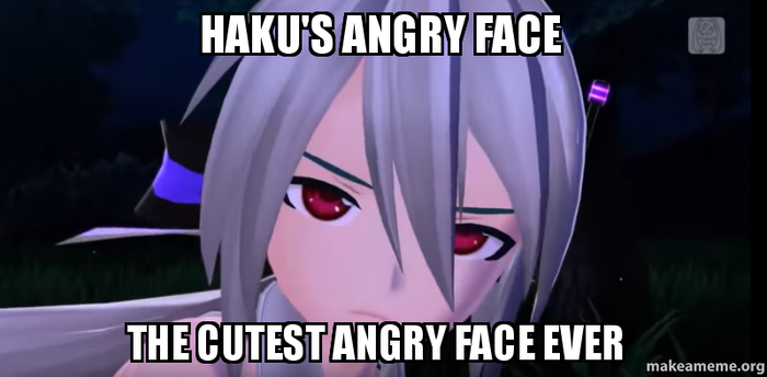 Haku's Angry Face Meme by KasaneCandy778