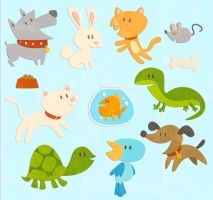 Scrapbooking Animals by DerekHunter