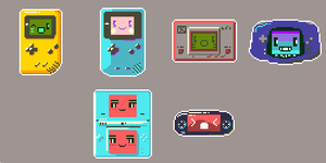 Handhelds by MarukiHurakami