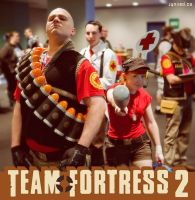 PAX09 - TF2 group 2 by Jynxed-Art