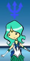 Sailor Neptune Bookmark by CynicalSniper