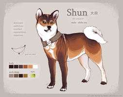Shun - design for sale by menuli