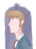 Doctor Who Portrait 10 by CRBaird