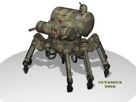 LEGGED COMBAT MACHINE by CUTANGUS