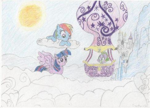 My Little Pony: FiM Scene Completed by StarDustCz
