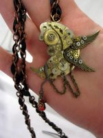 Mistress of Time necklace by Gothic-Enchantress