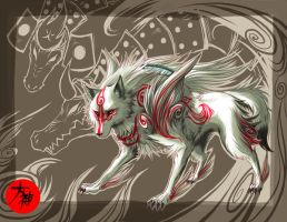 Amaterasu's glory by Zero-Zand