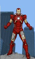 Iron Man Mark 7 from The Avengers by billythedalek
