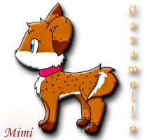 Caramelle Puppy by MimiTheFox