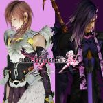Lightning and Caius Final Fantasy Xiii-2 by Hatredboy