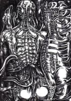 AN ODE TO GIGER by CHLO-MO
