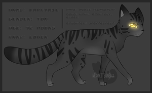Darktail Ref Sheet by SpottedpeIt