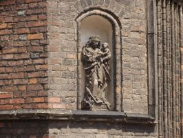 Detail of St.Mary's  Basilica by Adagem