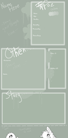Reference Sheet Template by StarOblivion