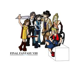 Final Fantasy VIII by FearTheMeatball