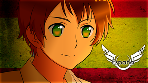Spain Vector (Hetalia The Beautiful World) by CamelieMimika