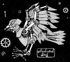 Mechanical Bird by Gammelnokkel