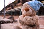 Dirty teddybear by DZerWebdesign