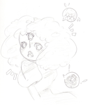Cotton Candy Garnet Sketch by herpaderp0192