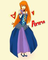 Request: Anna by zombiekawai