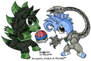 Syndow, Owen and Paige 2014 by trinityweiss
