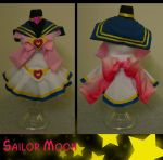 Sailor Moon Dress Form by Static-Flicker