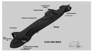 Seawolf concept by onthesquare
