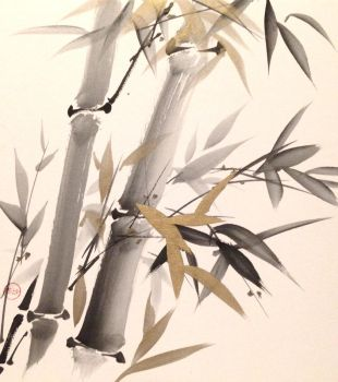 Sumie bamboo  by bsshka