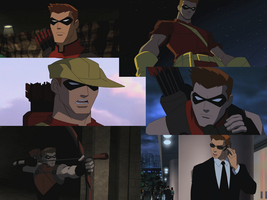 Red arrow moments in young justice by rocky-road123
