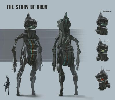 The Story Of Aken: Aken character design by Zyryphocastria