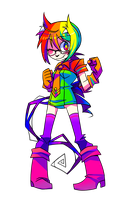 Color Girl V2 by Krooked-Glasses