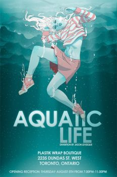 Aquatic Life Show Flyer by stuntkid