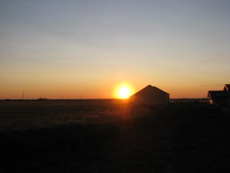 Traditional Sask. Sunrise Pt.2 by Canadianism