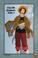 colo luffy next gen by nightmarluffy
