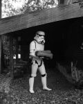 Storm Trooper carrying logs by JediSeeker1