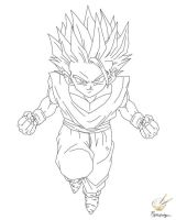 Dragon Ball - Gohan 62 by songohanart