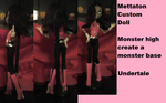 Mettaton EX Undertale Custom doll by AshleyFluttershy